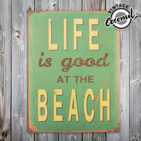 Vintage Bord - Beach