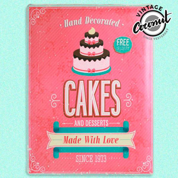 Vintage Bord - Cakes