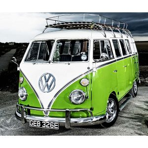 Diamond Painting Volkswagen Bus