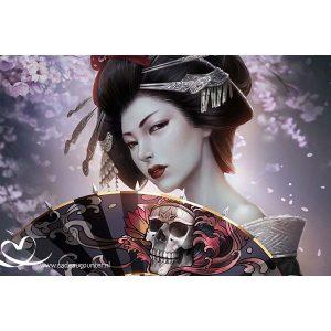 Diamond Painting Geisha