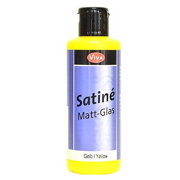 Viva Satiné Glasverf Geel - Mat