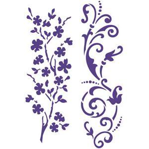 Glasverf Stencils - Takken